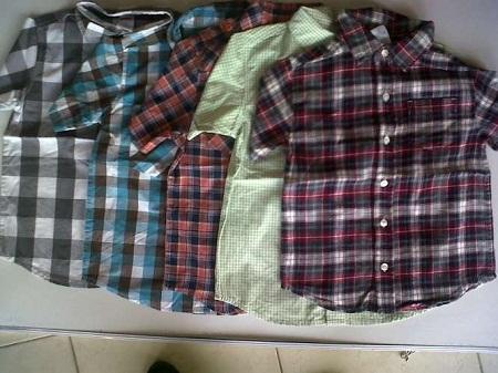Kulakan Baju Kemeja Anak Termurah