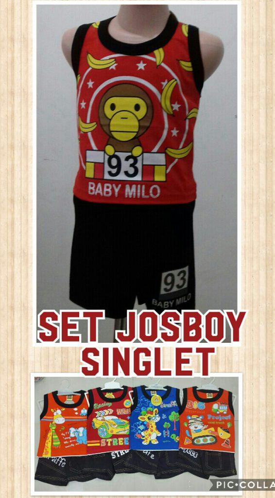 Supplier Setelan  Josboy Singlet Anak Laki Laki Murah 17Ribuan