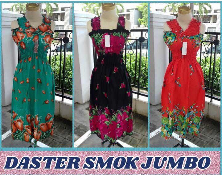Distributor Daster Smok Jumbo Wanita Dewasa Murah Surabaya