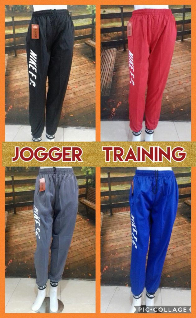 Konveksi Celana Jogger Sport Training Dewasa Murah Surabaya 26Ribu