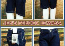 Jeans Pendek Dewasa Murah 40ribuan