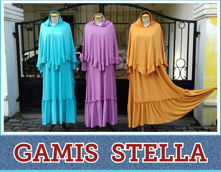 Supplier Gamis Stella Perempuan Murah