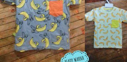 Distributor Kaos Banana Anak Murah Surabaya 22ribuan