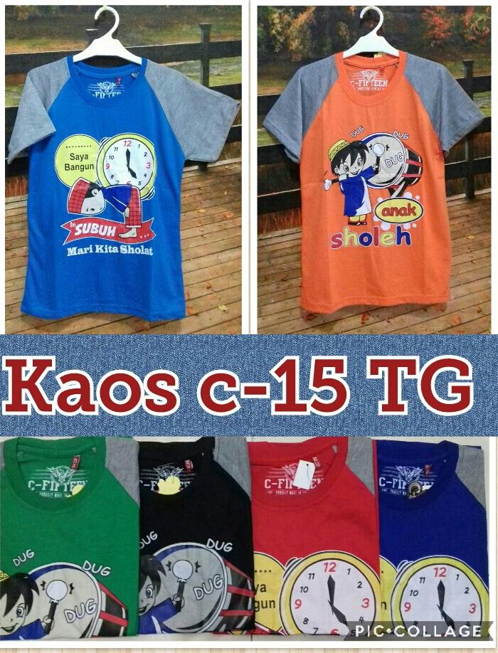 Grosir Kaos c-15 TG Murah Surabaya 16ribuan