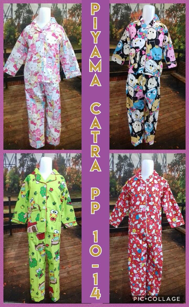 Pabrik Piyama Catra PP 10-14 Murah Surabaya