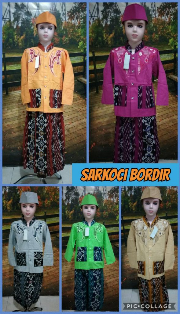 Supplier Sarkoci Bordir Murah Surabaya 40ribuan