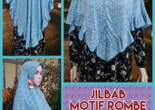 Supplier Jilbab Motif Rombe Terbaru Murah Surabaya 28 ribuan
