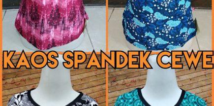 Grosir Kaos Spandek Wanita Murah 10ribuan