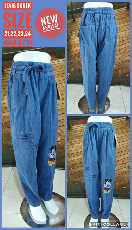 Produsen celana levis sobek anak murah surabaya 32ribuan