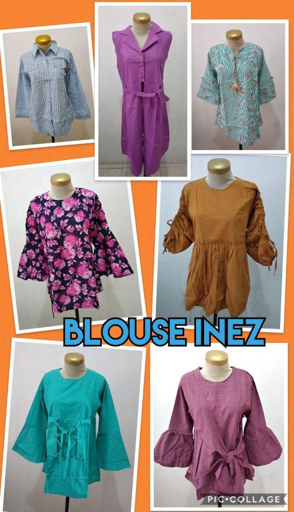 Pabrik Blouse Inez Murah 46ribuan