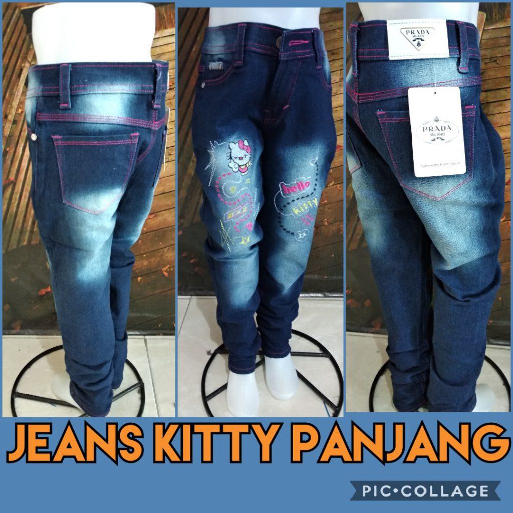 Pusat Kulakan Celana Jeans Kitty Panjang Murah 44ribuan