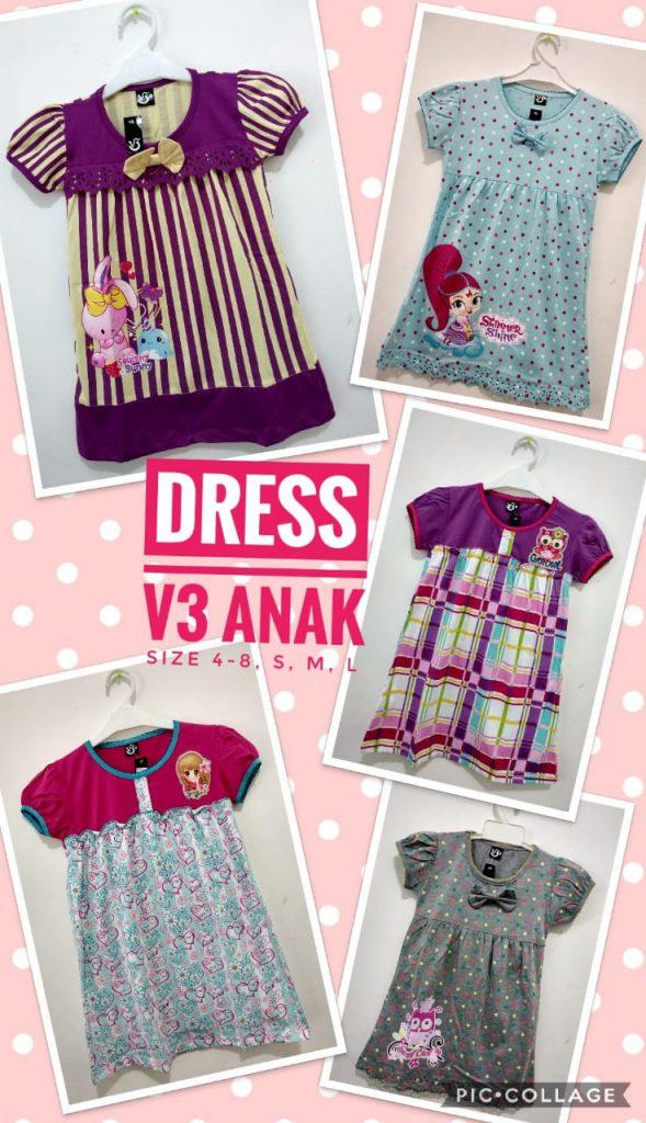Pusat Kulakan Dress Anak Terbaru Murah 28ribuan