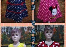 Pusat kulakan Dress Vanessa Anak Murah 40ribuan