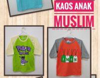 Supplier Kaos Muslim Anak Murah 17ribuan