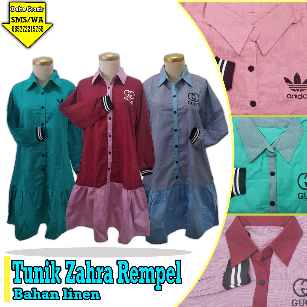 Supplier Tunik Dewasa Murah 60ribuan