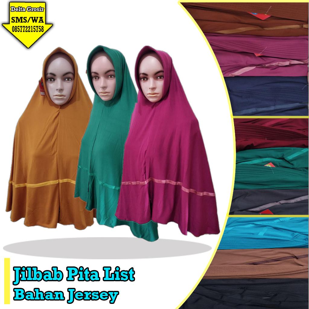 Distributor Kulakan Jilbab Pita List Murah 28ribuan