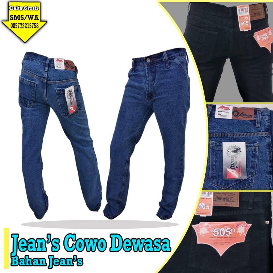 Pusat Kulakan Celana Jeans Dewasa Murah 60ribuan