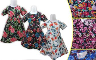 Grosir Dress Cotton Anak Murah di Surabaya