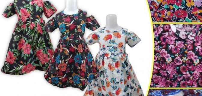 Grosir Dress Cotton Anak Murah di Surabaya