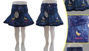 Konveksi Rok Jeans Anak Murah 18ribuan