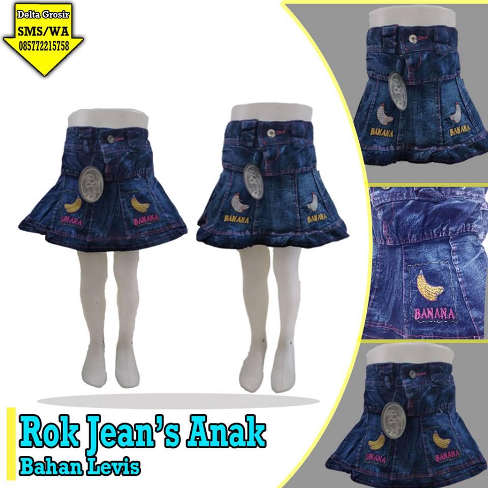 Konveksi Rok Jeans Anak Murah