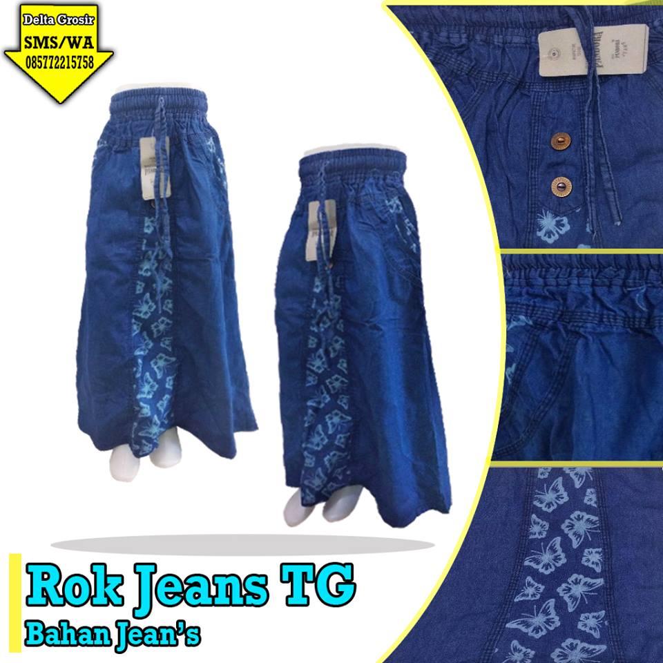 Pusat Kulakan Rok Jeans Tanggung Murah