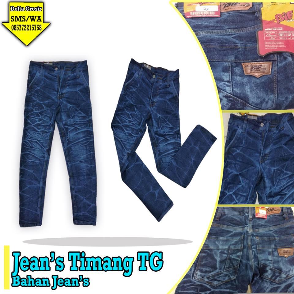 Pusat Kulakan  Celana Jeans Timang Tanggung Murah