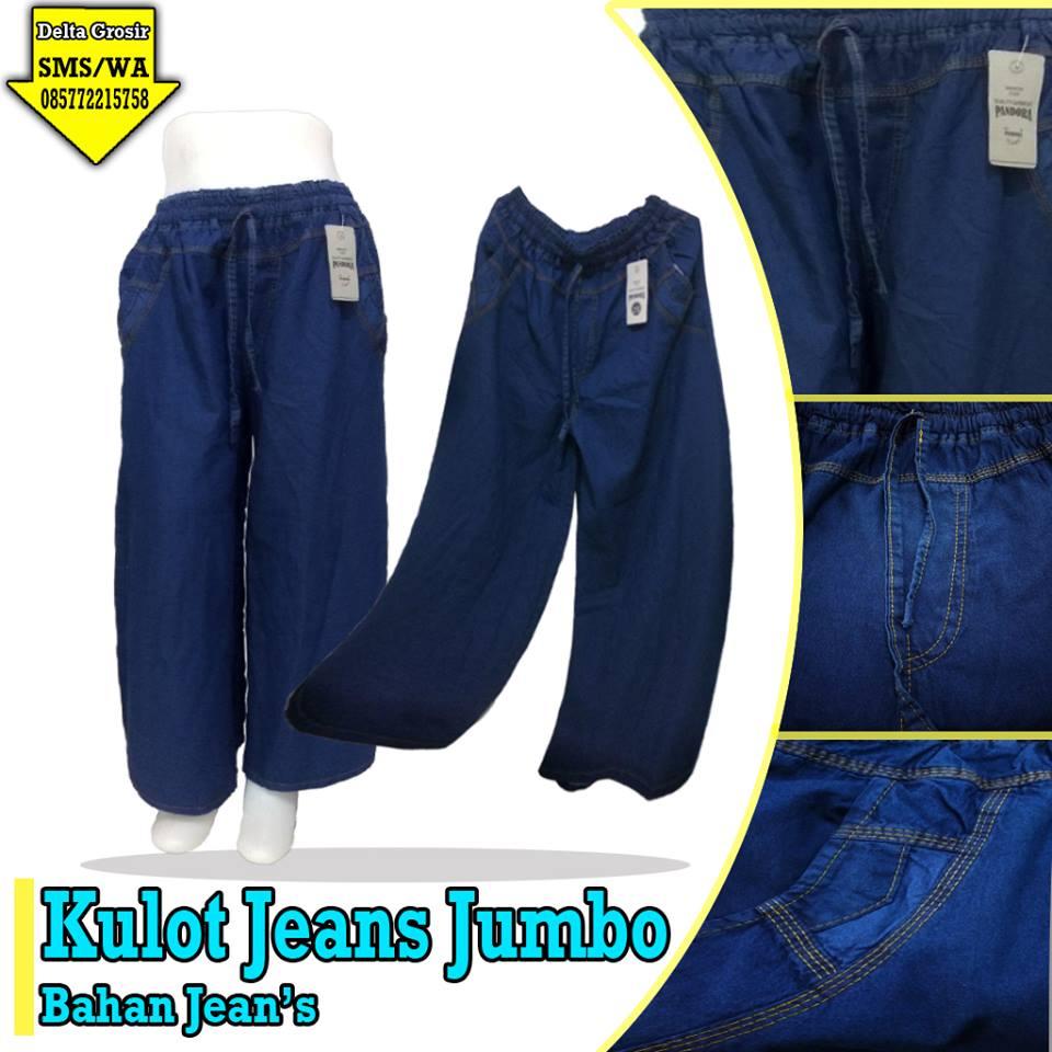 Pusat Grosir Celana Kulot Jeans Dewasa Murah
