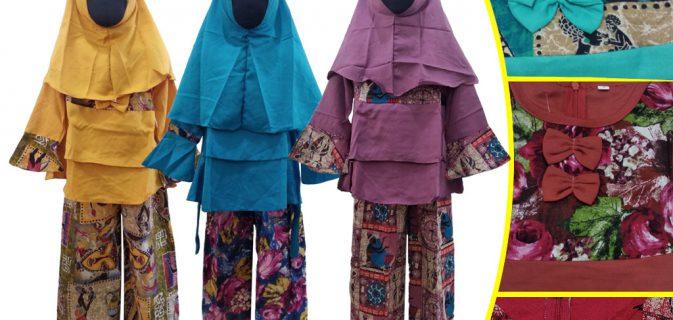 Grosir Gamis Linen Anak Murah di Surabaya