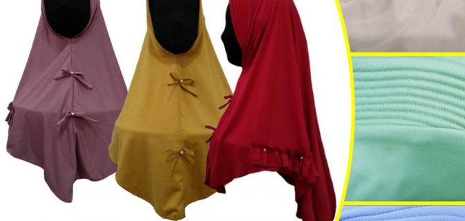 Grosir Jilbab Mutiara Dewasa Murah 22ribuan