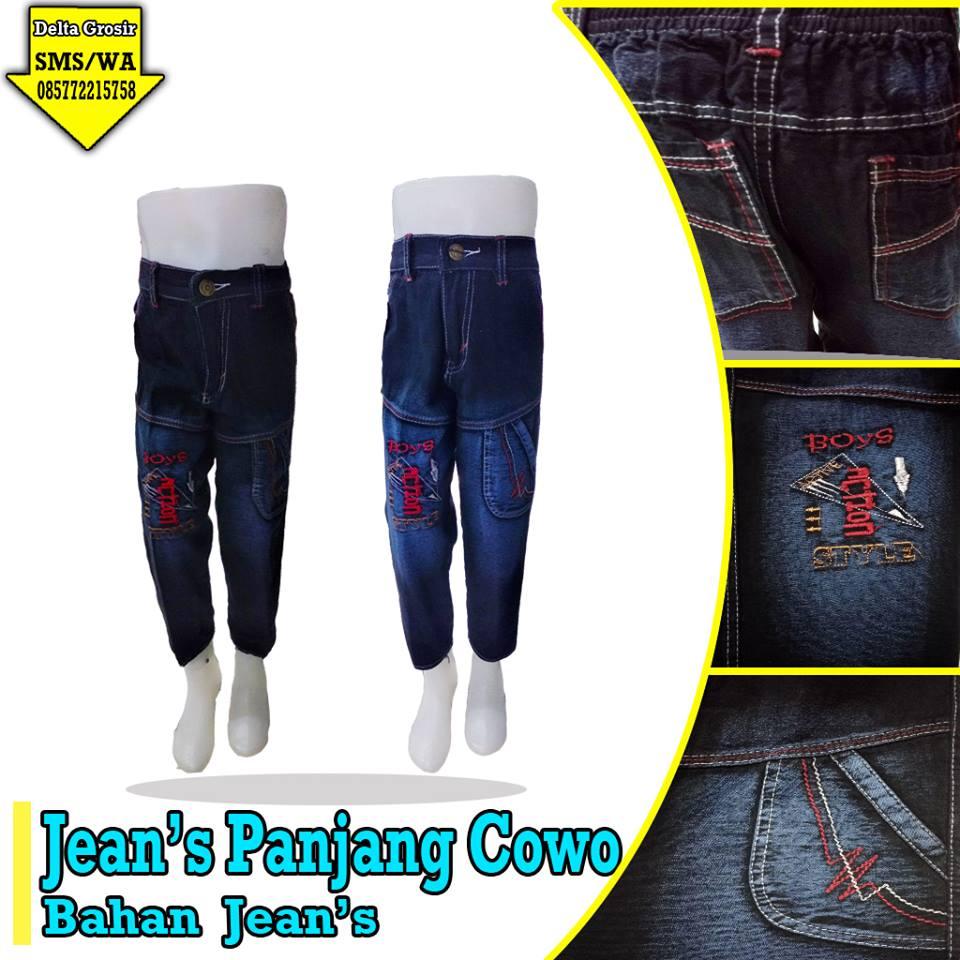 Pusat Kulakan Jeans Panjang Anak Murah