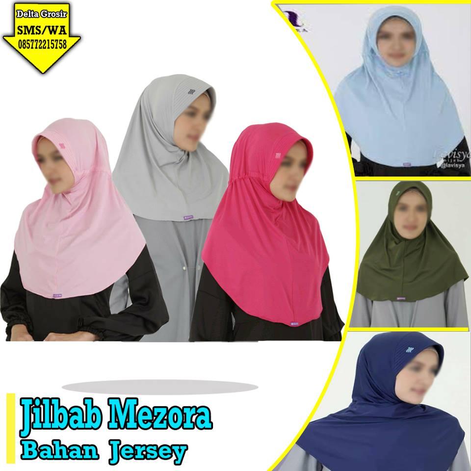 Pabrik Jilbab Mezora Dewasa Murah di Surabaya