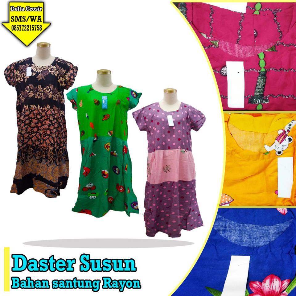 Pabrik Daster Susun Dewasa Murah