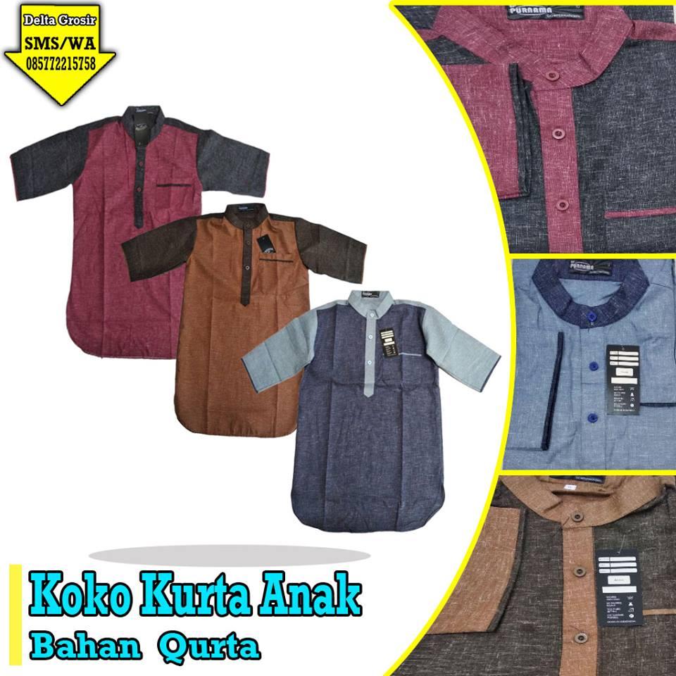 Pabrik Koko Kurta Anak Murah di Surabaya