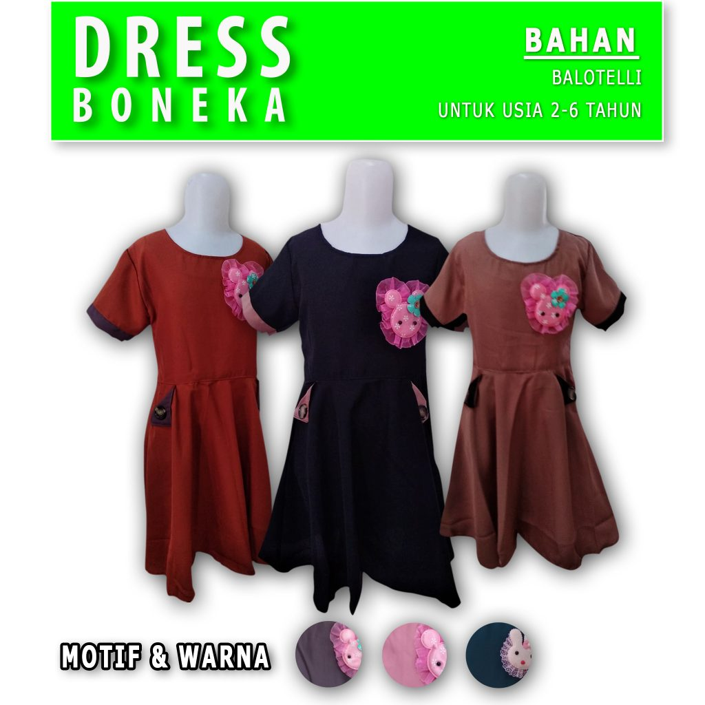 Produsen Dress Boneka Murah