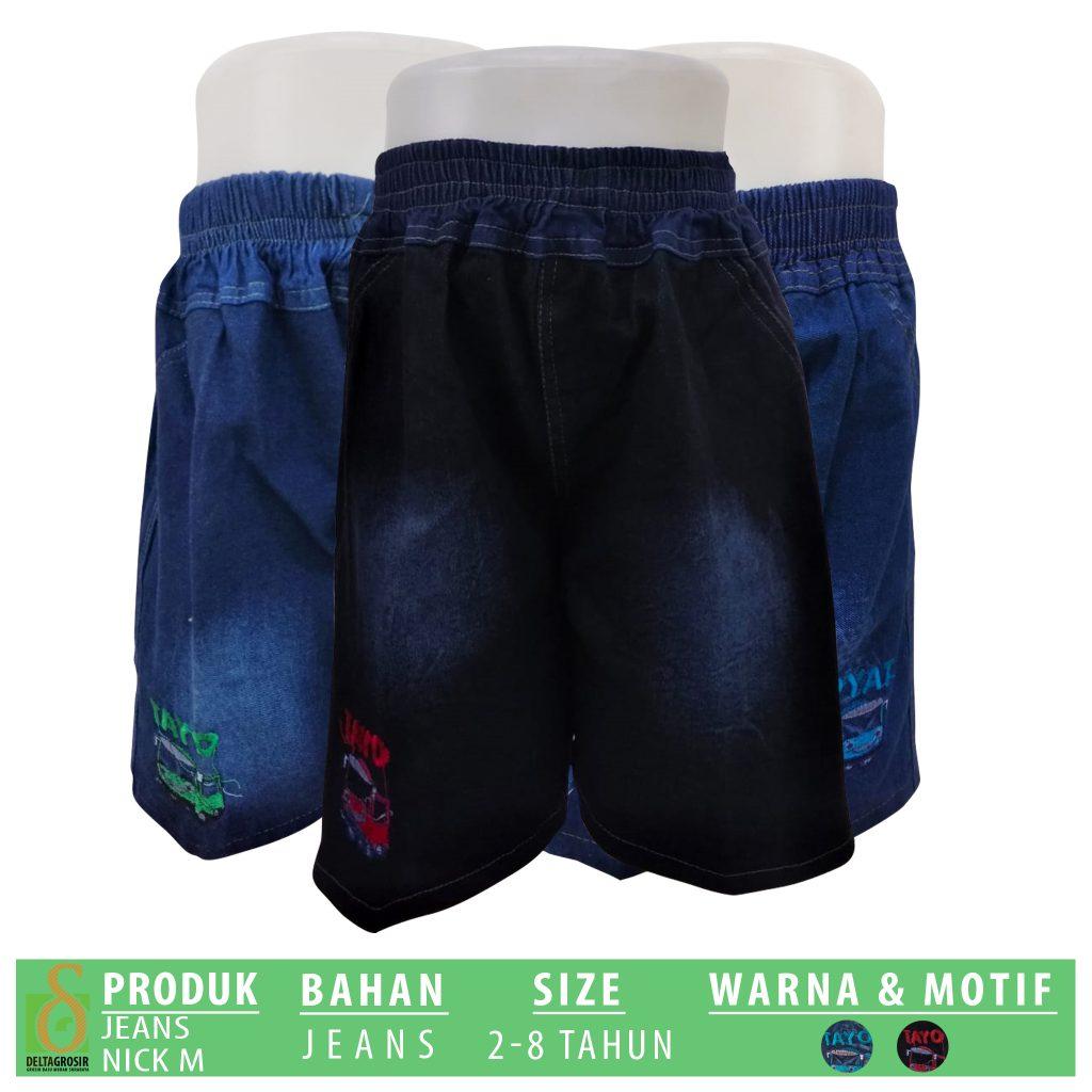 Konveksi Jeans Nick Anak Murah