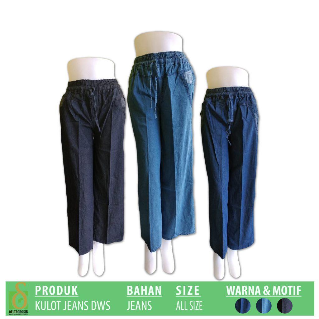 Distributor Kulot Jeans Dewasa Murah di Surabaya