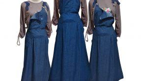 Konveksi Rok Jeans Overall Dewasa Murah di Surabaya