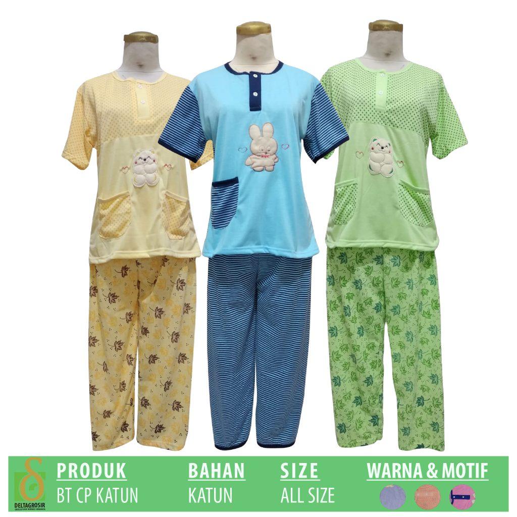 Pusat Kulakan Baju Tidur Katun CP Murah