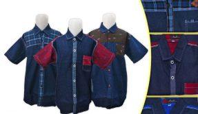 Grosir Kemeja Jeans Anak Murah di Surabaya