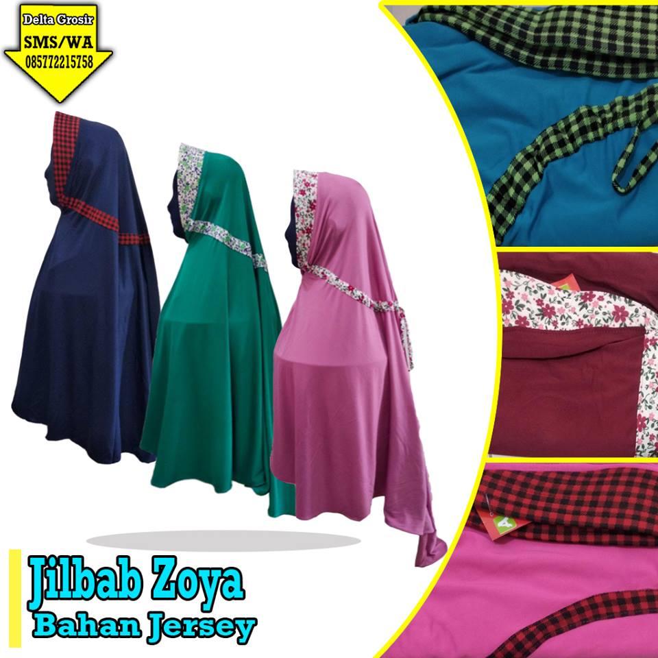 Produsen Jilbab Zoya Dewasa Murah di Surabaya